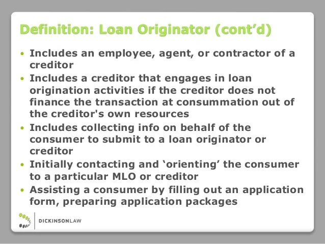 Compliance Counsel on Command: CFPB Loan Originator Compensation Rules