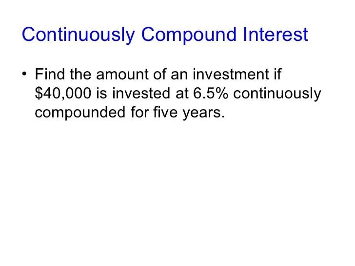 Compound Interest Investopedia | Autos Post