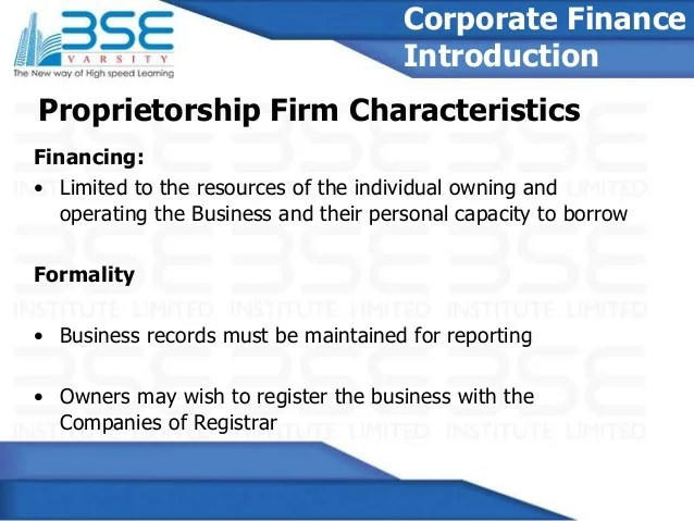 Corporate finance Course With BSE Certificate - BSE Varsity