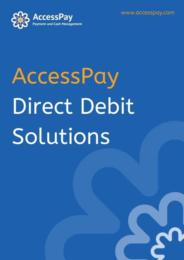 A good Direct Debit solution - improved cash flow and increased produ…