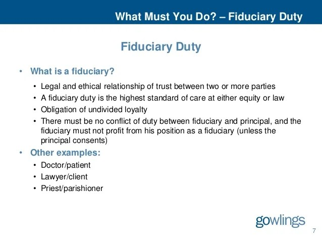 Powers, Duties and Liabilities of Directors and Officers