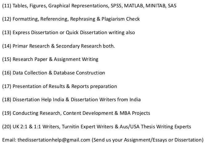 dissertation doctoral