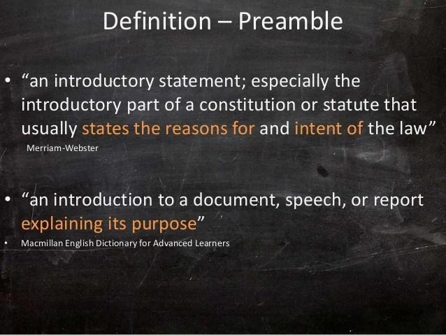 Dsm5 Preamble & Critique
