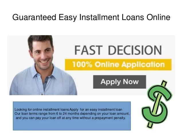 Best Easy Installment Loans Online