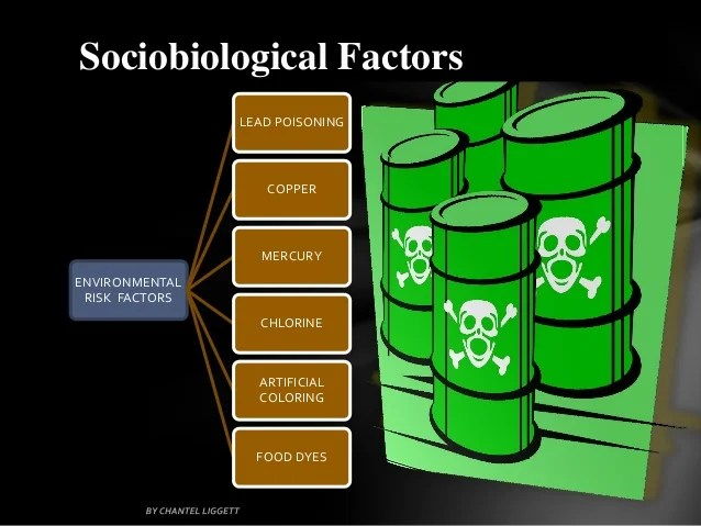 Environmental risk factors for criminal behavior 7