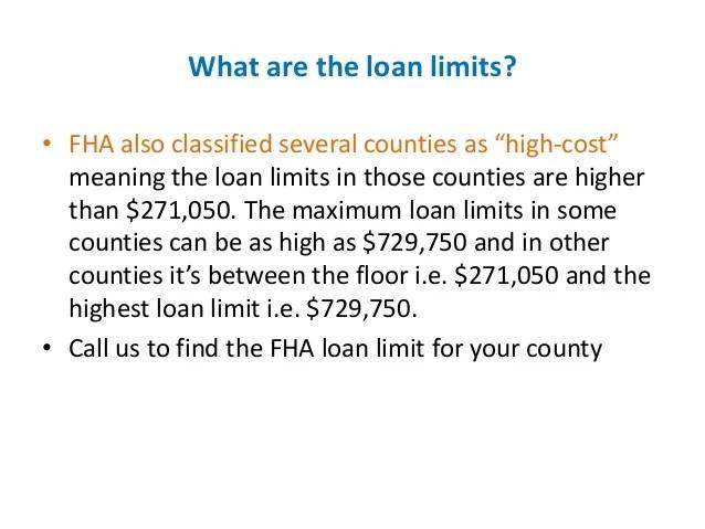 FHA Loans- The Basics