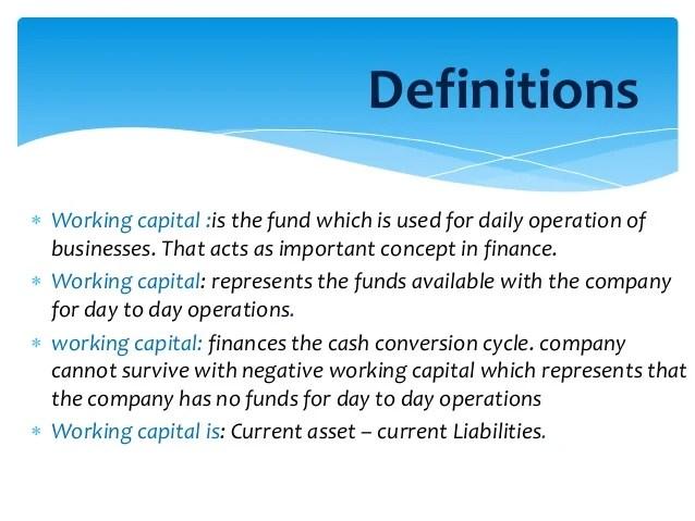 Working Capital Analysis on PRAN-RFL Company [Financial Management]