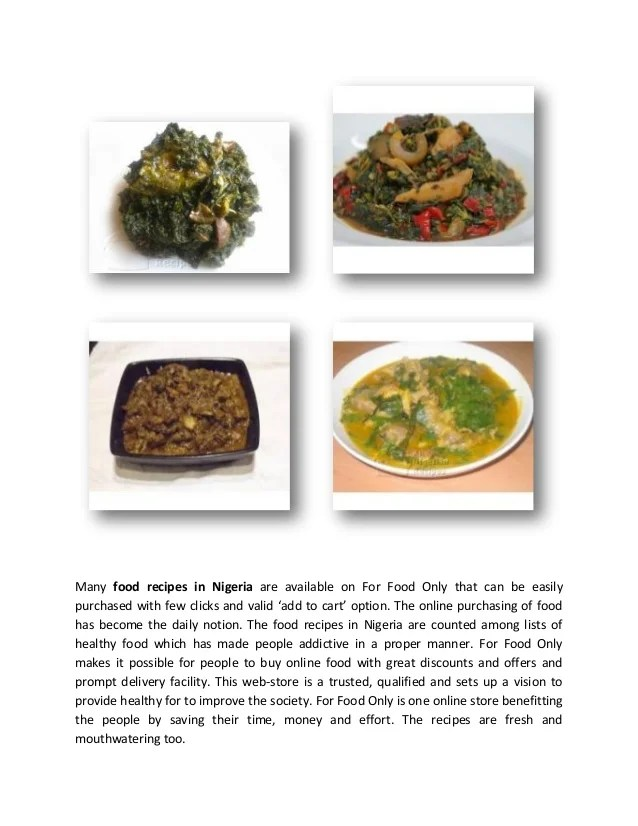 Nigerian food recipes pdf foodstutorial healthy food recipes in nigeria for good living pdf forumfinder Gallery