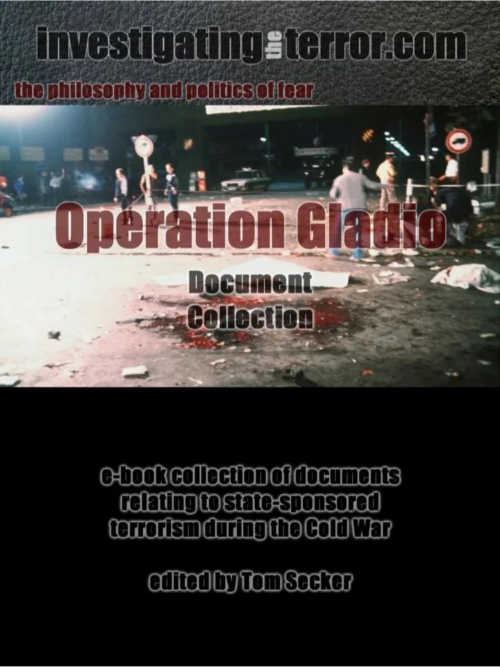 Operation Gladio document collection
