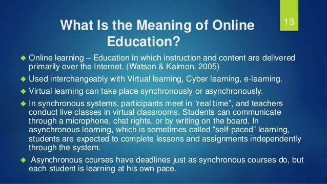 Is Online the Future of Education?