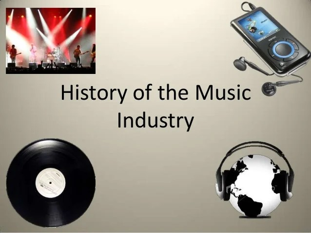History of the music industry