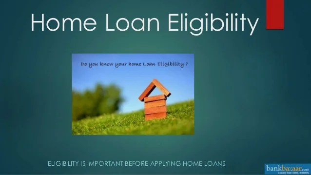 how to increase home loan eligibility