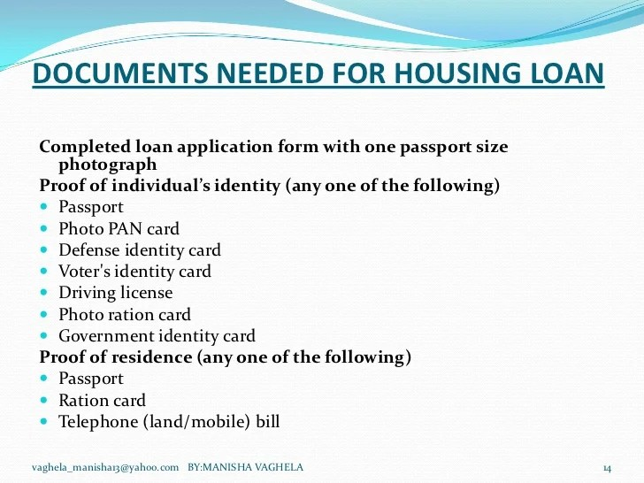 DIFFERENCES BETWEEN HOUSING-LOANS PROVIDED BY SBI AND HDFC BANK