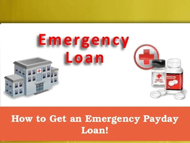 How to get an emergency payday loan