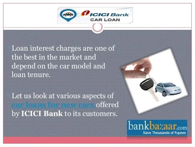 ICICI Bank Car Loan Offers