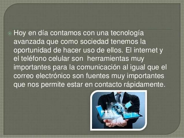 Importancia de la Tecnología en la Sociedad Actual