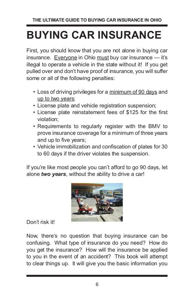 The Ultimate Guide to Buying Car Insurance in Ohio