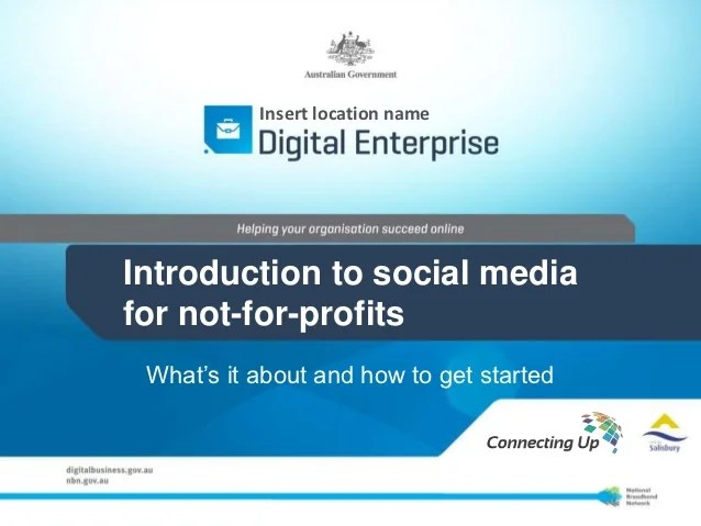Digital And Social Media Introduction For Nama