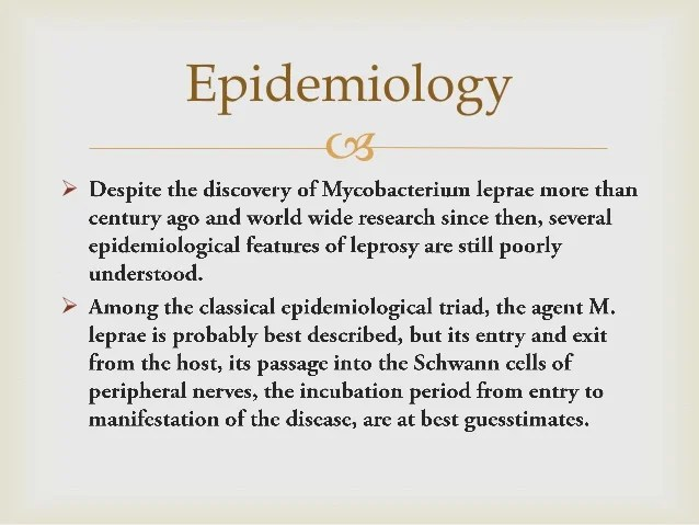 Leprosy research paper