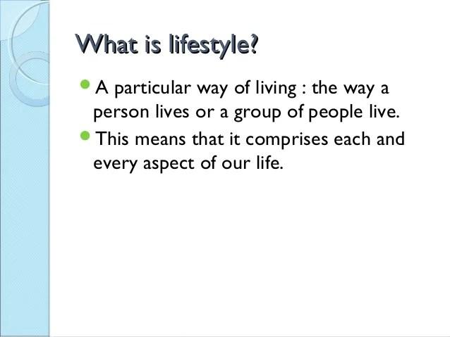 Lifestyle And Mental Health by Ms. Vijayanka Shah