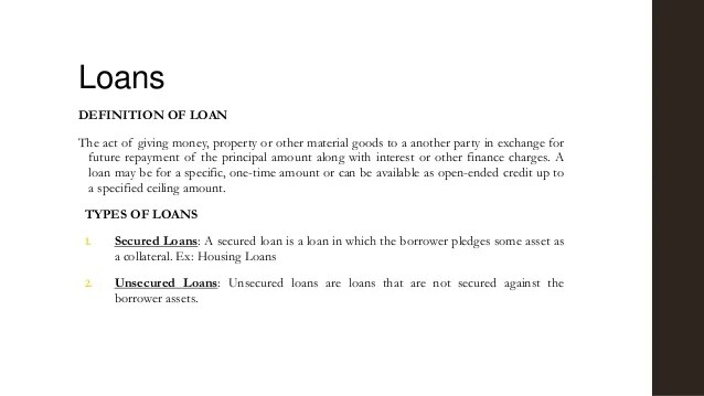 Long term loan policy kapol cooperative bank