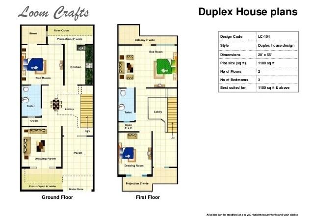 Home Design 20*30 - HomeRiview