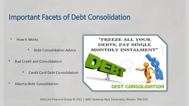 Debt Consolidation Programs