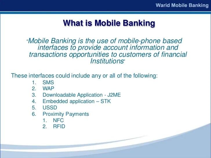 Mobile Banking 2010