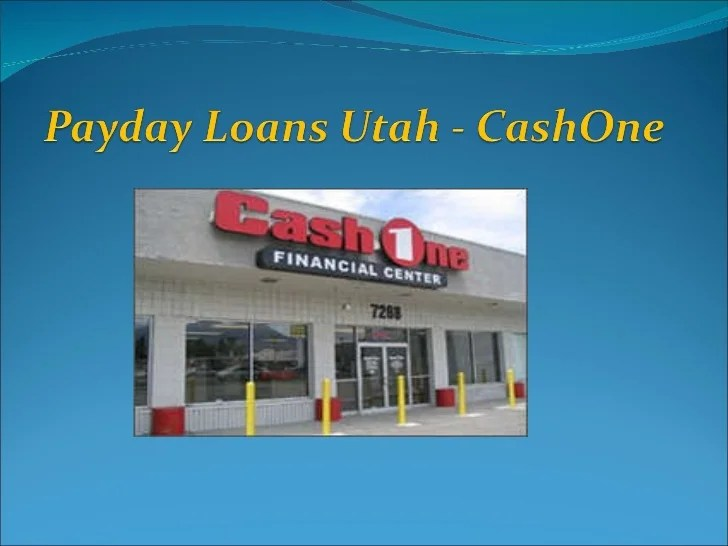 Payday loans utah