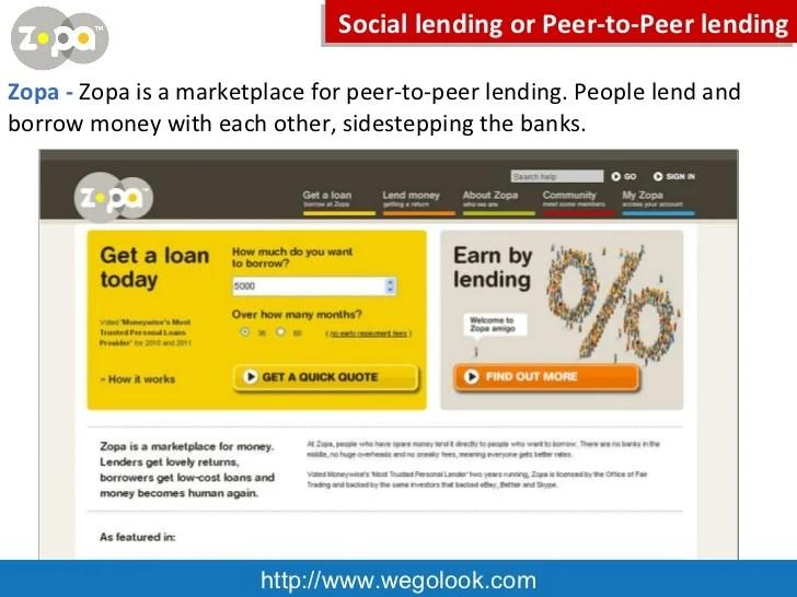 Peer to Peer Services