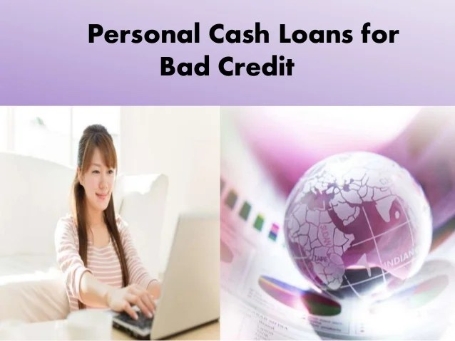 Personal Cash Loan For Bad Credit- Spare Cash Without Any Credit Hass…