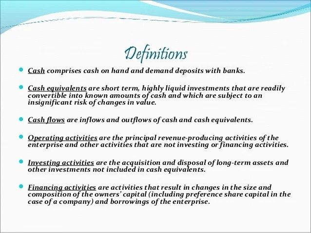 What Is Cash Flow Definition And Meaning | Autos Post