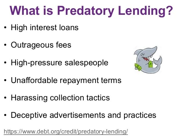 Predatory Lending Practices & How to Avoid Them