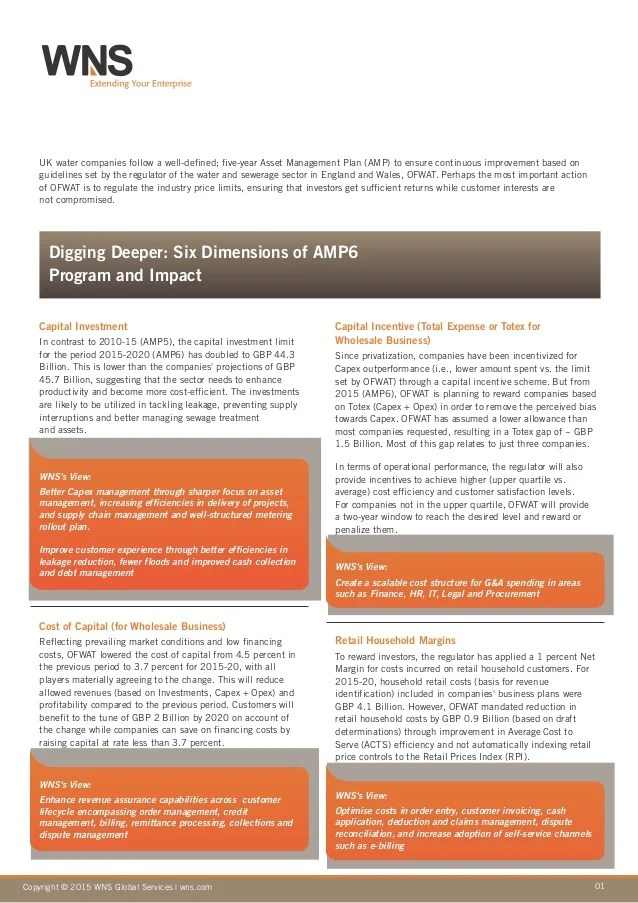 Preparing for Asset Management Plan AMP 6 - Doing More with Less