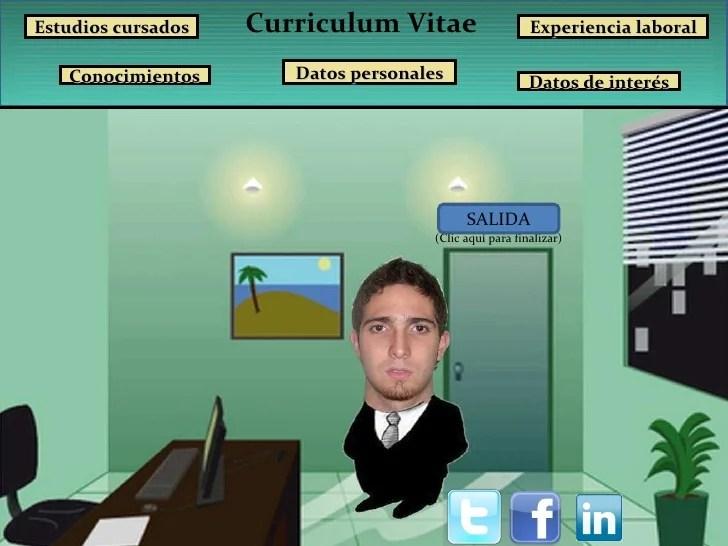 Presentación Curriculum Vitae.