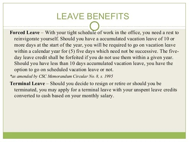Vacation Leave Reasons Philippines Find Your World