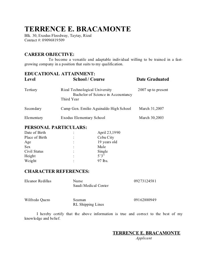 resumes without objectives fascinating resume for call center