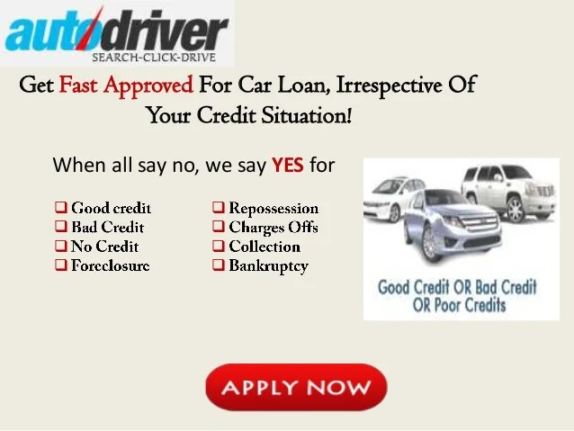 Same Day Car Loans for Bad Credit, Get Instant Same Day Approval for