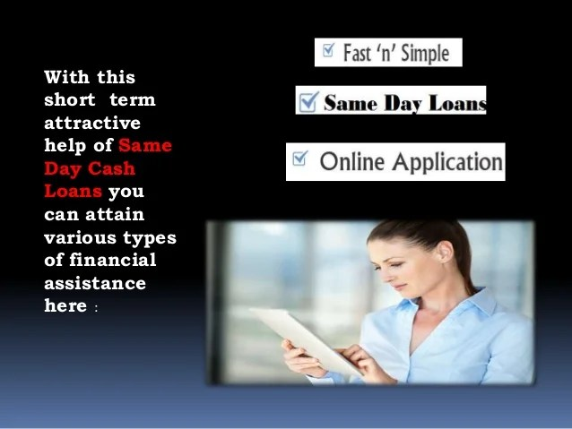 Same Day Faxless Loans- A Feasible Mean to Provide Sufficient Monetar…