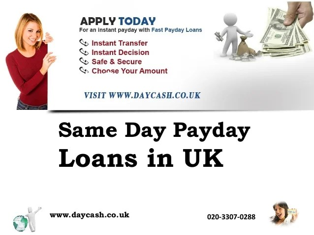 Same day payday loan in uk