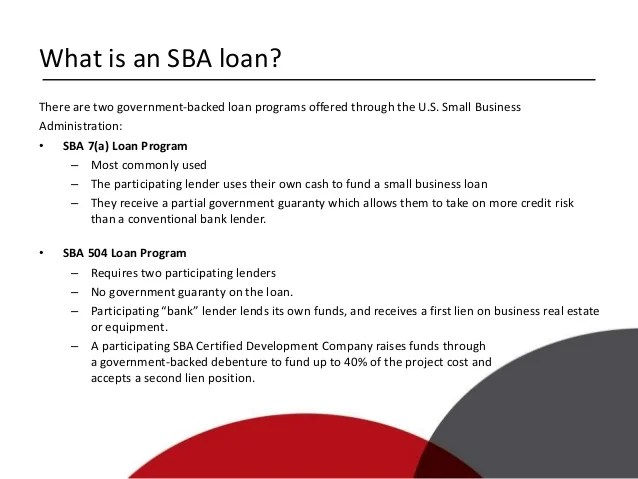SBA Financing for Small Business Real Estate