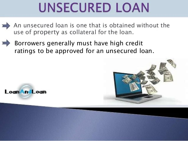 Secured vs unsecured loans all about borrowing money