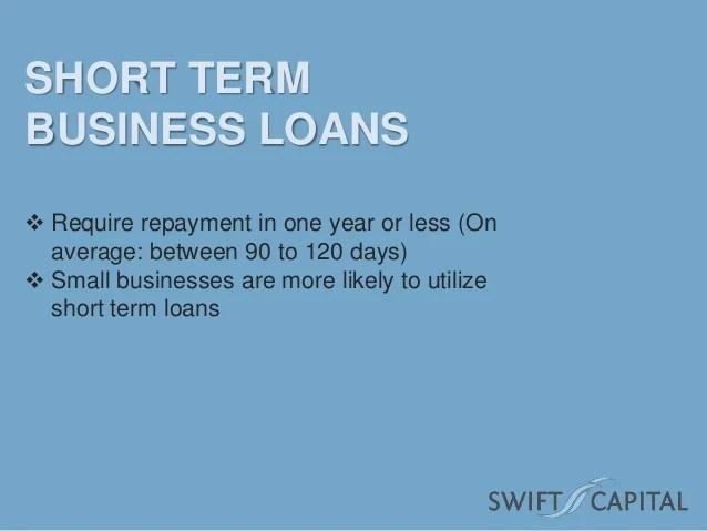 Short Term vs. Long Term Loans
