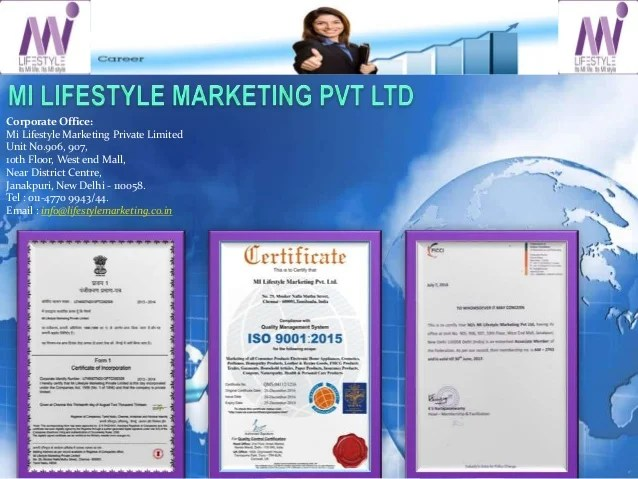Best directselling company in india/ mi lifestylemarketing ...
