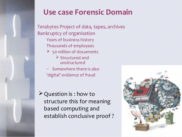 Establishing conclusive proof in Forensic Data Analytics