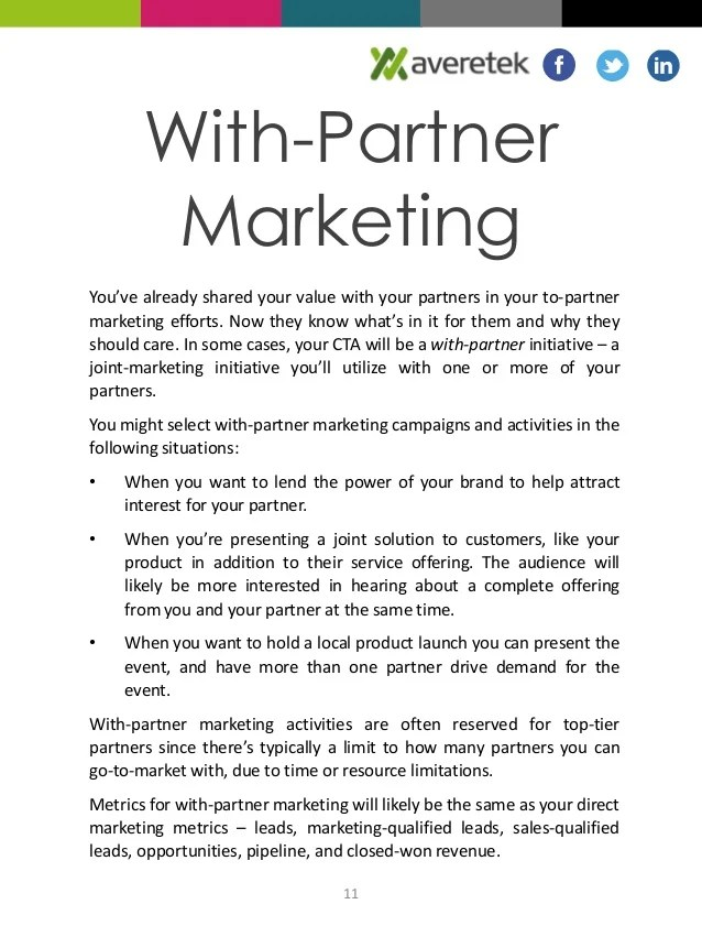 What is Partner Marketing?