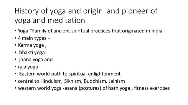 Yoga And Meditation Research In Psychiatry