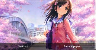 Anime Girl HD Live Wallpaper APK Download - Gratis Personalisasi APL untuk Android   APKPure.com