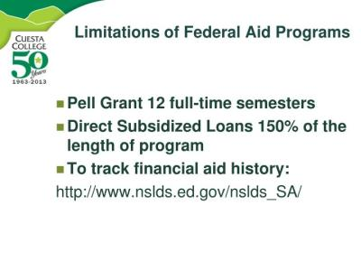 PPT - Funding Your Future Financial Aid Overview PowerPoint Presentation - ID:1640844