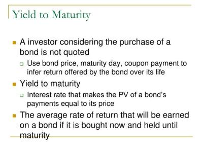 PPT - Bond Prices and Yields PowerPoint Presentation - ID:3384472